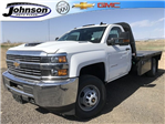 2018 Silverado 3500 Regular Cab DRW 4x4, Platform Body #G816202 - photo 1