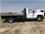 2018 Silverado 3500 Regular Cab DRW 4x4,  Platform Body #G817403 - photo 5