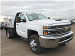 2018 Silverado 3500 Regular Cab DRW 4x4 Platform Body #G828988 - photo 4