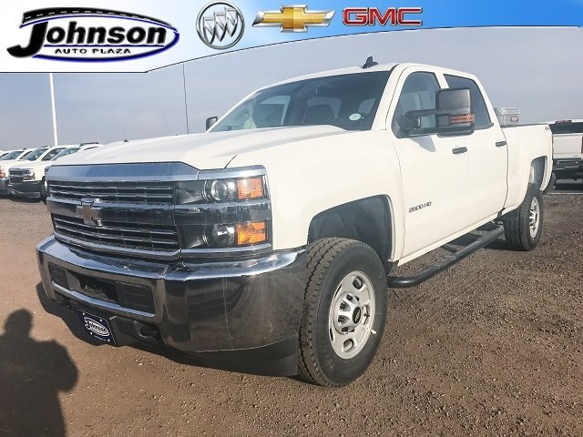2018 Silverado 2500 Crew Cab 4x4 Pickup #G831412 - photo 1