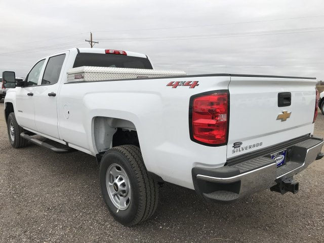 2018 Silverado 2500 Crew Cab 4x4 Pickup #G833966 - photo 2
