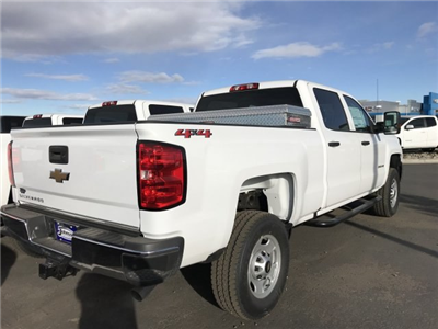 2018 Silverado 2500 Crew Cab 4x4, Pickup #G834091 - photo 6