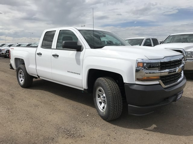 2018 Silverado 1500 Double Cab 4x4,  Pickup #G845692 - photo 4