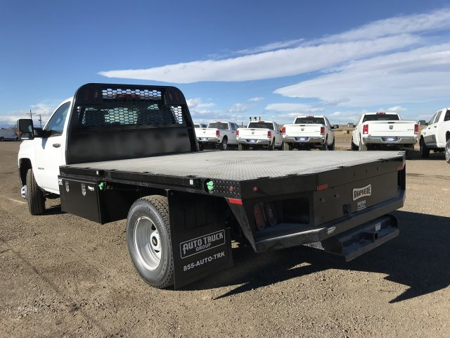 2018 Silverado 3500 Regular Cab DRW 4x4 Platform Body #G848811 - photo 2