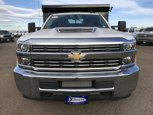 2018 Silverado 3500 Regular Cab DRW 4x4 Dump Body #G849769 - photo 3