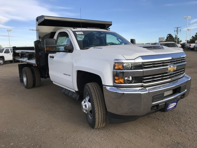 2018 Silverado 3500 Regular Cab DRW 4x4 Dump Body #G849769 - photo 4
