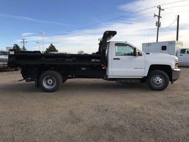2018 Silverado 3500 Regular Cab DRW 4x4 Dump Body #G849769 - photo 5