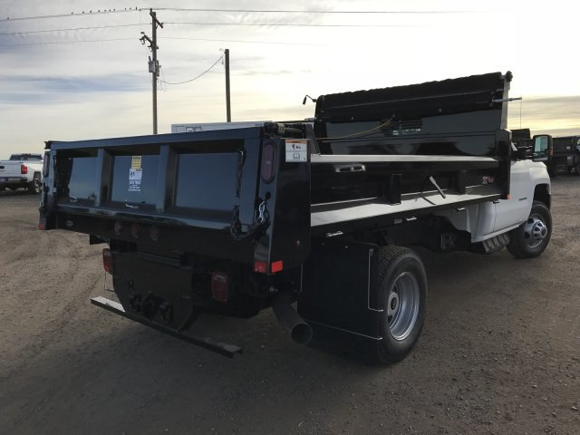 2018 Silverado 3500 Regular Cab DRW 4x4 Dump Body #G849769 - photo 6