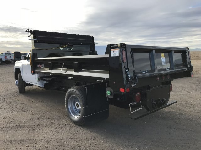 2018 Silverado 3500 Regular Cab DRW 4x4 Dump Body #G849769 - photo 2