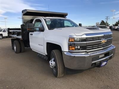 2018 Silverado 3500 Regular Cab DRW 4x4,  Dump Body #G849769 - photo 4
