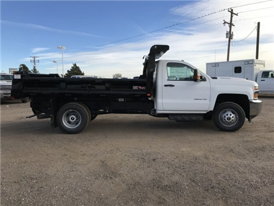 2018 Silverado 3500 Regular Cab DRW 4x4,  Dump Body #G849769 - photo 5