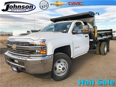 2018 Silverado 3500 Regular Cab DRW 4x4,  Dump Body #G849769 - photo 1