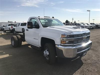 2018 Silverado 3500 Regular Cab DRW 4x4,  Cab Chassis #G851965 - photo 4
