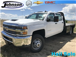 2018 Silverado 3500 Crew Cab DRW 4x4,  Platform Body #G855751 - photo 1