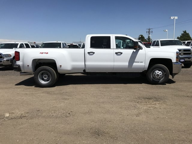 2018 Silverado 3500 Crew Cab 4x4, Pickup #G864472 - photo 6