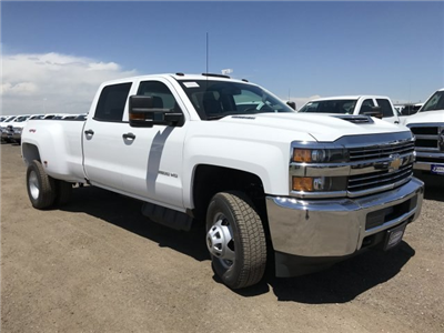 2018 Silverado 3500 Crew Cab 4x4, Pickup #G864472 - photo 5
