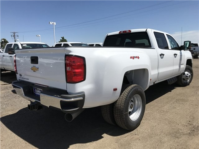 2018 Silverado 3500 Crew Cab 4x4, Pickup #G864472 - photo 3