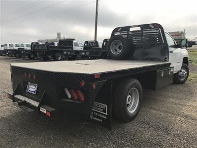 2018 Silverado 3500 Regular Cab DRW 4x4,  Default Bedrock Platform Body #G877304 - photo 6
