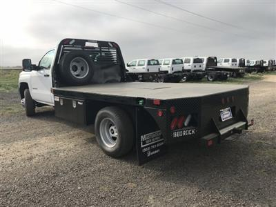 2018 Silverado 3500 Regular Cab DRW 4x4,  Default Bedrock Platform Body #G877304 - photo 2