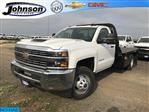 2018 Silverado 3500 Regular Cab DRW 4x4,  Default Bedrock Platform Body #G877304 - photo 1