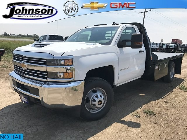 2018 Silverado 3500 Regular Cab DRW 4x4,  CM Truck Beds RD Model Platform Body #G879093 - photo 1