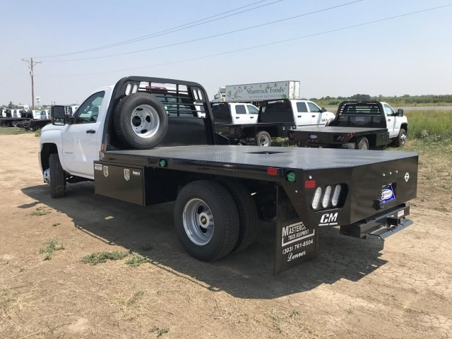 2018 Silverado 3500 Regular Cab DRW 4x4,  CM Truck Beds RD Model Platform Body #G879093 - photo 2