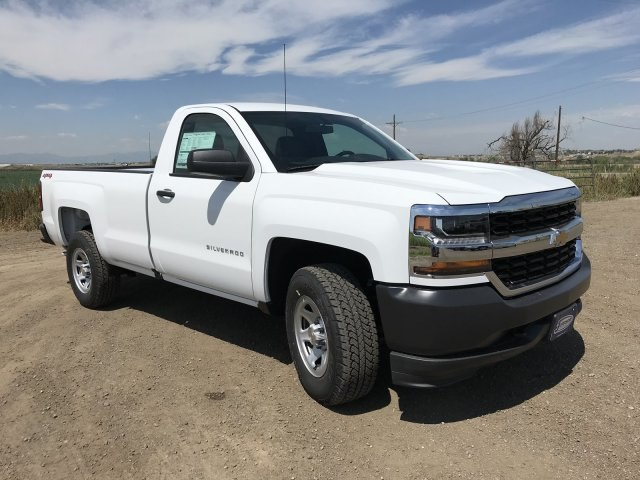 2018 Silverado 1500 Regular Cab 4x4,  Pickup #G879102 - photo 4