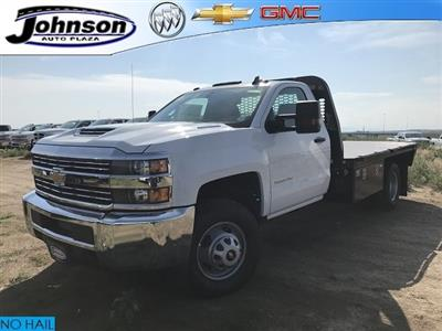 2018 Silverado 3500 Regular Cab DRW 4x4,  Knapheide PGNB Gooseneck Platform Body #G888023 - photo 1