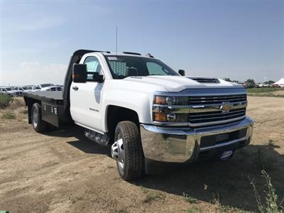 2018 Silverado 3500 Regular Cab DRW 4x4,  Knapheide PGNB Gooseneck Platform Body #G888023 - photo 4