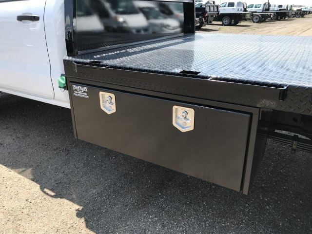 2018 Silverado 3500 Regular Cab DRW 4x4,  Knapheide PGNB Gooseneck Platform Body #G889410 - photo 7