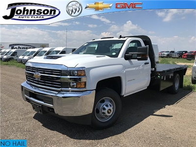 2018 Silverado 3500 Regular Cab DRW 4x4,  Knapheide PGNB Gooseneck Platform Body #G889410 - photo 1