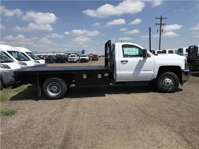 2018 Silverado 3500 Regular Cab DRW 4x4,  Knapheide PGNB Gooseneck Platform Body #G889410 - photo 5