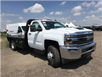 2018 Silverado 3500 Regular Cab DRW 4x4,  Knapheide PGNB Gooseneck Platform Body #G889410 - photo 4