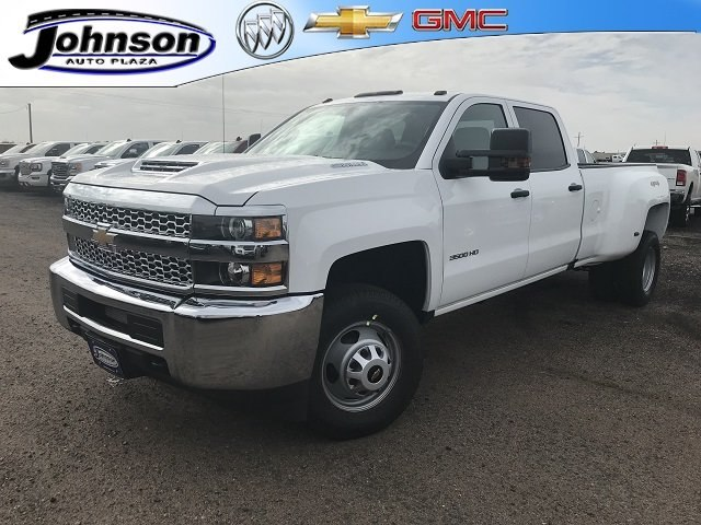 2019 Silverado 3500 Crew Cab 4x4,  Pickup #G930062 - photo 1