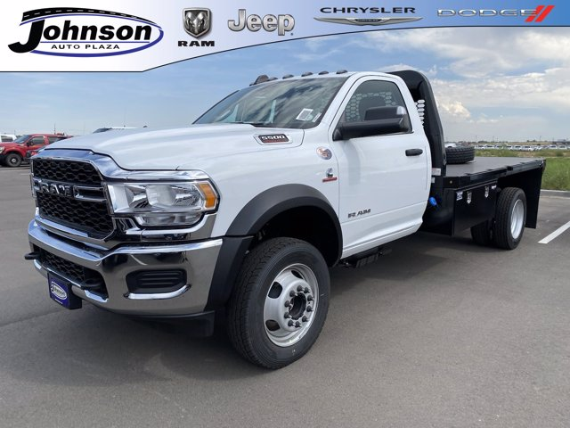 2020 Ram 5500 Regular Cab DRW 4x4, Knapheide Platform Body #C086147 - photo 1