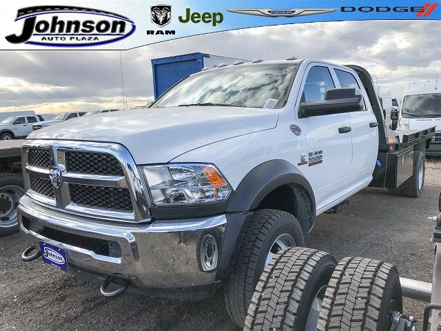 2017 Ram 5500 Crew Cab DRW 4x4 Platform Body #C734070 - photo 1