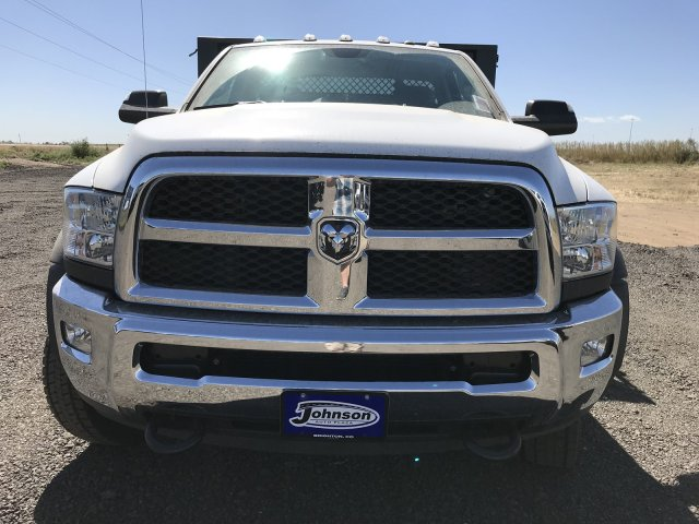 2017 Ram 5500 Regular Cab DRW 4x4, Knapheide Value-Master X Stake Bed #C768486 - photo 3
