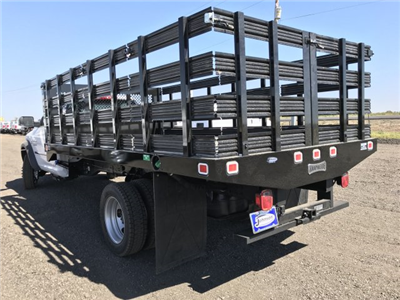 2017 Ram 5500 Regular Cab DRW 4x4, Knapheide Value-Master X Stake Bed #C768486 - photo 2