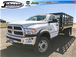 2017 Ram 5500 Regular Cab DRW 4x4, Knapheide Value-Master X Stake Bed #C768486 - photo 1