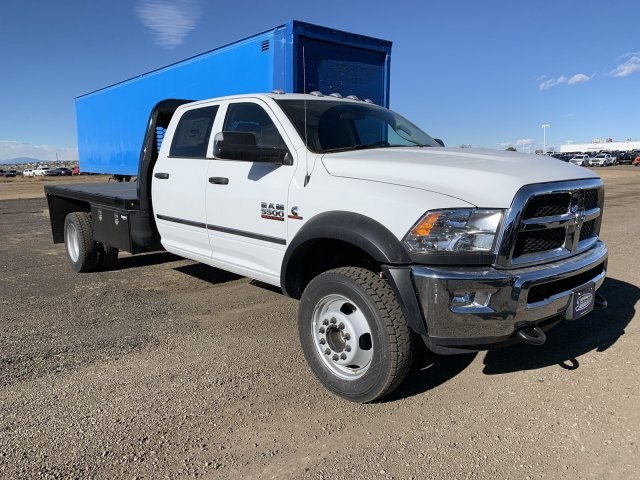 2018 Ram 5500 Crew Cab DRW 4x4,  Knapheide Platform Body #C804341 - photo 4