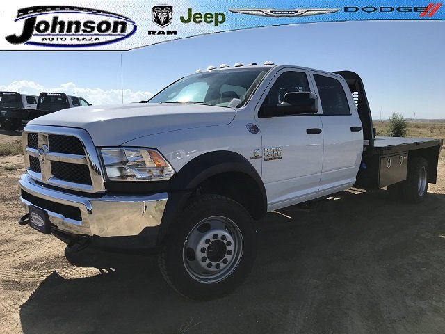 2018 Ram 5500 Crew Cab DRW 4x4,  Platform Body #C804350 - photo 1