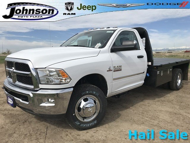 2018 Ram 3500 Regular Cab DRW 4x4,  Knapheide PGNB Gooseneck Platform Body #C808849 - photo 1