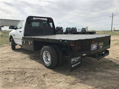 2018 Ram 3500 Regular Cab DRW 4x4,  Knapheide PGNB Gooseneck Platform Body #C808849 - photo 2