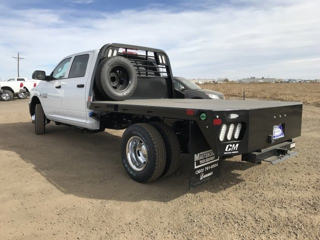 2018 Ram 3500 Crew Cab DRW 4x4,  CM Truck Beds RD Model Platform Body #C812718 - photo 2