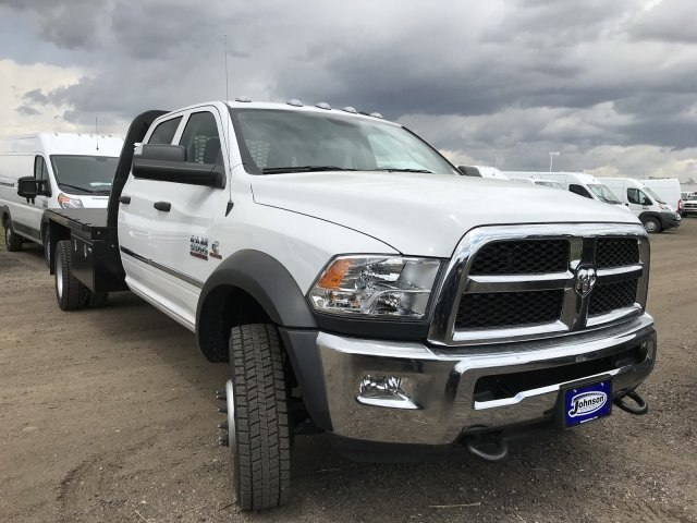 2018 Ram 5500 Crew Cab DRW 4x4,  Knapheide Platform Body #C818686 - photo 4