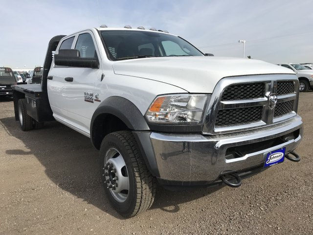 2018 Ram 5500 Crew Cab DRW 4x4, Platform Body #C819953 - photo 4