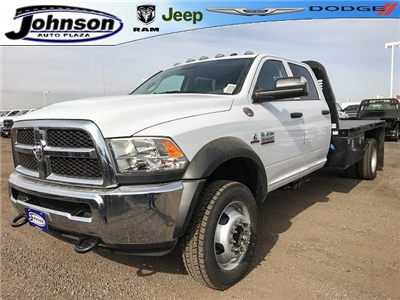 2018 Ram 5500 Crew Cab DRW 4x4, Platform Body #C819953 - photo 1