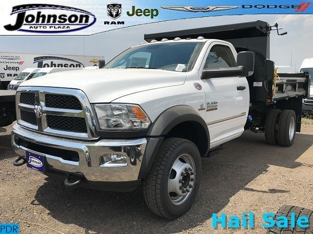2018 Ram 5500 Regular Cab DRW 4x4,  Rugby Eliminator LP Steel Dump Body #C824968 - photo 1