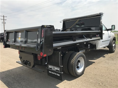 2018 Ram 5500 Regular Cab DRW 4x4,  Rugby Eliminator LP Steel Dump Body #C824968 - photo 5