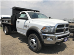 2018 Ram 5500 Regular Cab DRW 4x4,  Rugby Eliminator LP Steel Dump Body #C824968 - photo 4